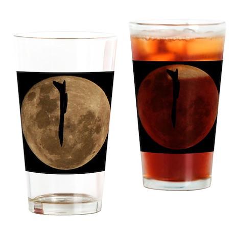 (11p) B-1B Moon Flight Drinking Glass