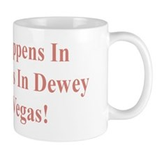 WhatHappensDewey5x2Pink Mug