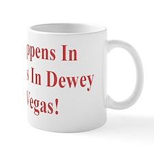 WhatHappensDewey5x2Red Mug