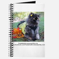 Cute Freida%2c the throw away kitty Journal