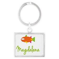 Magdalena-the-big-fish Landscape Keychain