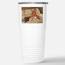 Animals Calendar Cover Stainless Steel Travel Mug