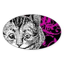 cheshirecat-pink-2 Decal