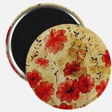 Red Grunge Pillow Magnet