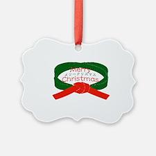 wreathBelt Ornament