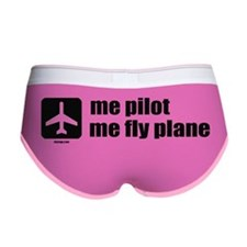 me pilot centered copy Women's Boy Brief