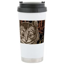 cheshirecat-bronze-2 Travel Mug