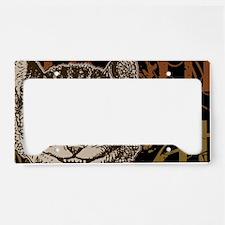 cheshirecat-bronze-2 License Plate Holder