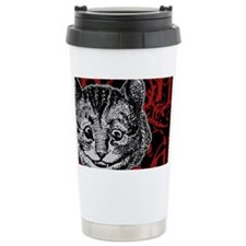 cheshirecat-red-2 Travel Mug