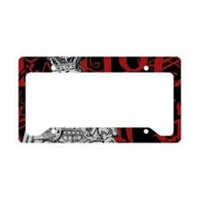 kingofhearts-red-2 License Plate Holder