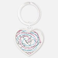 I will survive nursing school jumbl Heart Keychain