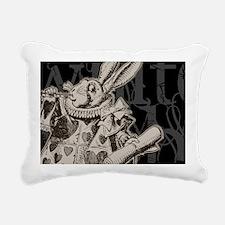 whiterabbit-2 Rectangular Canvas Pillow