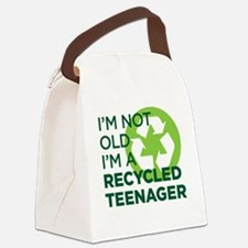 RECYCLEDTEEN copy Canvas Lunch Bag
