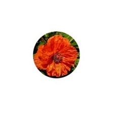 Poppy Mini Button