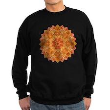 Orange Gold Yoga Mandala Shirt Sweatshirt