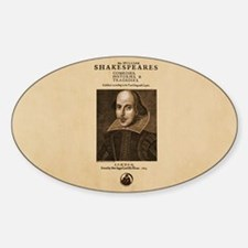 first-folio Sticker (Oval)