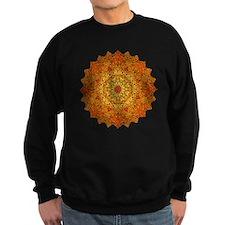 Gold Orange Yoga Mandala Shirt Sweatshirt