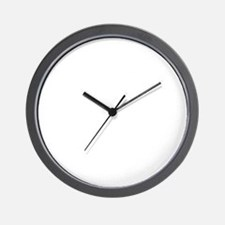if you cant beat them.white Wall Clock