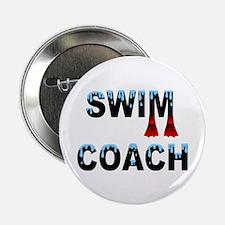 "Swim Coach 2.25"" Button (10 pack)"