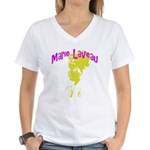 Marie Laveau Women's V-Neck T-Shirt