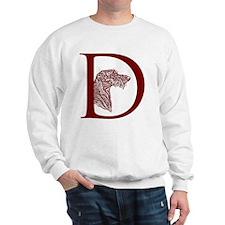 GraphicDHeadRedBrown Sweatshirt