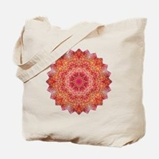 Pink Purple Mandala Yoga Shirt Tote Bag