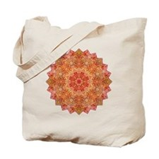 Earth Mandala Yoga Shirt Tote Bag