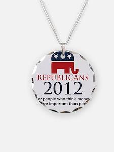 Republicant-money Necklace