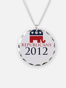 Republicant-money-white Necklace