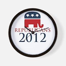 Republicant-money-white Wall Clock