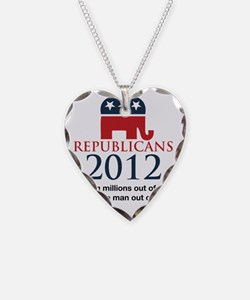 Republicant-out of a job Necklace