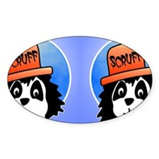 Scruff flop toe Decal
