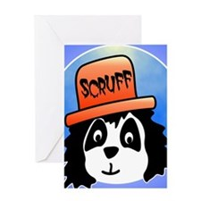 Scruff poster Greeting Card