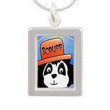 Scruff poster Silver Portrait Necklace