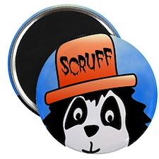 Scruff square Magnet