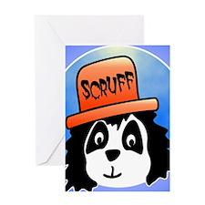 Scruff wide Greeting Card