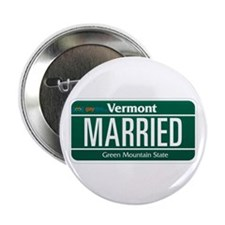 """Vermont Marriage Equality 2.25"""" Button (10 pack)"""
