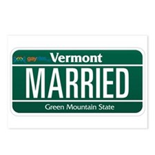 Vermont Marriage Equality Postcards (Package of 8)