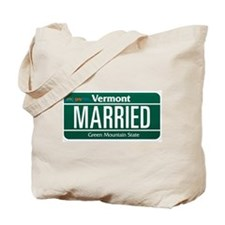 Vermont Marriage Equality Tote Bag