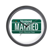 Vermont Marriage Equality Wall Clock