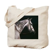 Gray Square Tote Bag