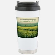Write To Say Quote on Large Fra Travel Mug