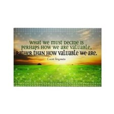 Valuable and Decide Quote on Larg Rectangle Magnet
