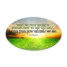 Valuable and Decide Quote on Large Oval Car Magnet