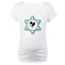 MABC_1A BLACK Blue  Green Snowfl Shirt