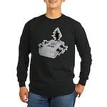 Cat Scan Long Sleeve Dark T-Shirt