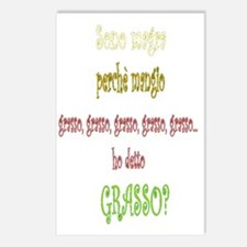 sono magra drk.gif Postcards (Package of 8)