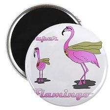 Super Flamingo01 Magnet