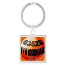 bouy_orn2011 Square Keychain