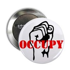 "Occupy-hat2 2.25"" Button"